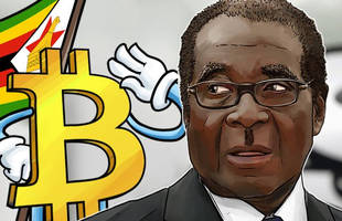 bitcoin soars to record high above $8000 after mugabe speech