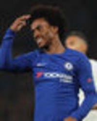 transfer news live updates: chelsea star willian to man utd claim, liverpool, arsenal talk