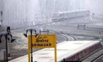 j&k: train services remained suspended in kashmir valley for second day due to security reasons