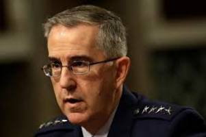 Nuclear launch order can be refused: Air Force General John