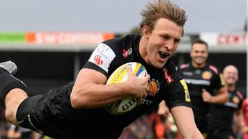 Exeter beat Harlequins to go top of Premiership