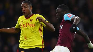 moyes' west ham reign starts with defeat at watford