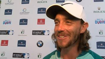 Race to Dubai: Tommy Fleetwood says win caps off 'best year of my life'