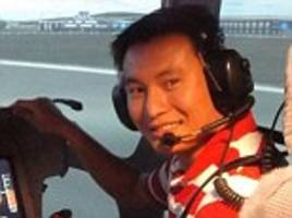 Pictured: Vietnamese pilot, 32, killed in crash