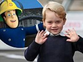 Prince George is set to 'star' in Fireman Sam