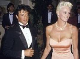 sylvester stallone's ex-wife denies sexual assault claim