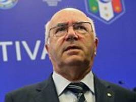carlo tavecchio resigns as president of italian figc