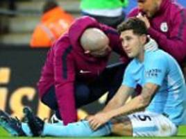 john stones out for '4-6 weeks' with hamstring injury