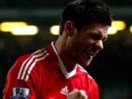 xabi alonso to make liverpool return in legends game
