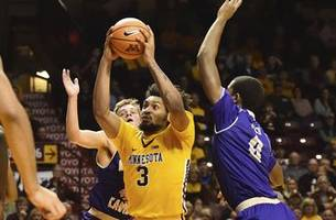 gophers' murphy repeats as big ten player of the week
