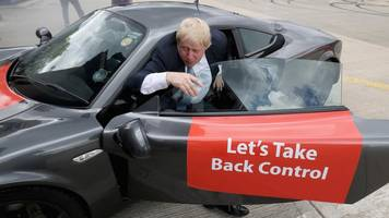 politicians in cars: good or bad spin?