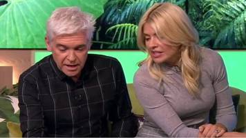 this morning: holly and phil off air for 12 minutes