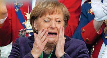 gold, euro slump as merkel admits new elections are the better way