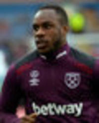 west ham are a shambles… and michail antonio agrees: ace likes pic of daily star back page
