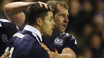 Scotland call for fit-again Sean Maitland and Fraser Brown