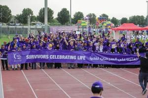 Cancer Patients, Survivors, Supporters and Caregivers Undertake UAE's First Relay for Life