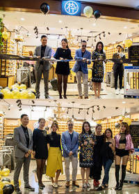 International Fashion Influencers Join MUJOSH Grand Opening Party in Langham Place