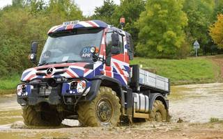 Mercedes-Benz made tractors sexy. Prepare to meet the Unimog
