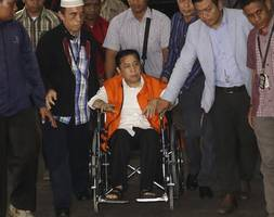 indonesia parliament speaker taken into custody by anti-graft agency