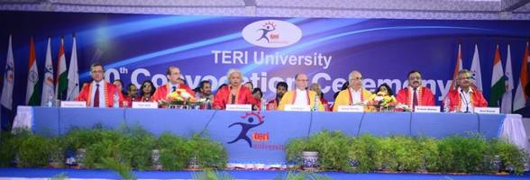 teri university hosts its 10th convocation