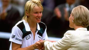 Jana Novotna: From losing Wimbledon in 1993 to finally winning in 1998