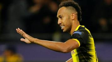 aubameyang back for vital dortmund clash
