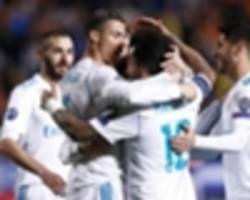 APOEL 0 Real Madrid 6: Record-breaking Ronaldo and Benzema send holders through in style