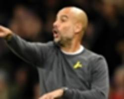 guardiola reaches half-century at man city, but can't better barcelona and bayern records
