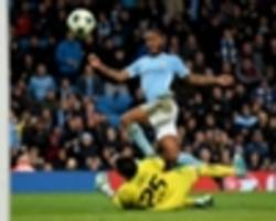 manchester city 1 feyenoord 0: sterling strikes late as top spot is clinched