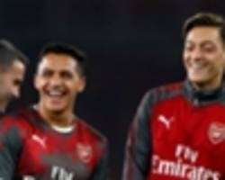 monreal: ozil and alexis committed to arsenal and going nowhere