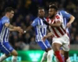 stoke city 'should have played more football' - choupo-moting on brighton and hove albion stalemate