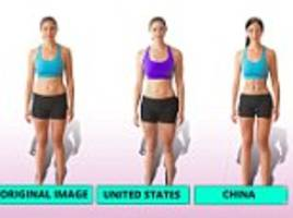 How the 'perfect figure' differs around the world