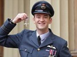 isis: prince william honours raf pilot who saved iraqis