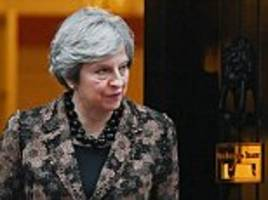 brexit backlash as may's war cabinet 'agrees £40bn offer'