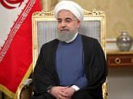 iranian president hassan rouhani declares the end of isis
