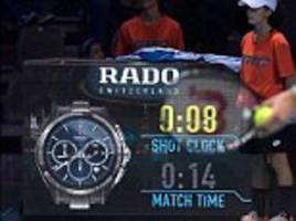 australian open to use 25-second shot clock from 2018