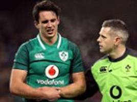 joey carbery faces race to be fit for six nations