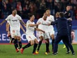 Sevilla 3-3 Liverpool: Reds throw away 3-0 lead in Spain