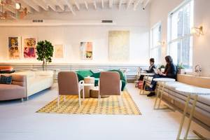 women are dropping $2,350 and waiting on an 8,000-person list to join an exclusive no-men-allowed club that just raised $32 million from investors like wework