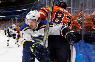 blues search for more success against struggling oilers