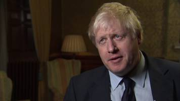 Boris Johnson: Mugabe exit 'moment of hope' for Zimbabwe