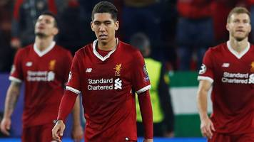 Liverpool throw away 3-0 half-time lead to draw in Seville