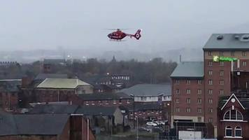 Air ambulance in rush-hour rescue
