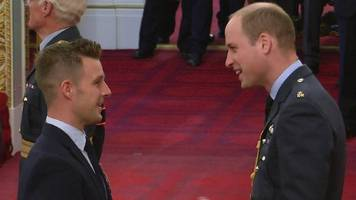 jonathan rea: motorcycling champion receives mbe at buckingham palace