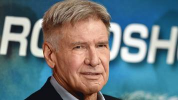 hero harrison ford rescues woman from car accident