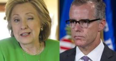 Comey Has No Issue With It: Judicial Watch Dumps Explosive New FBI Emails From McCabe Conflicts Review