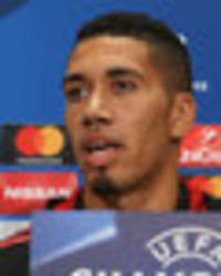 man utd star chris smalling: i wouldn't want to face our attackers