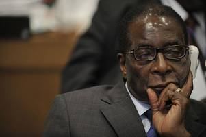 Resignation of Zimbabwe President Robert Mugabe read out in cheering parliament