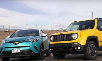 Toyota C-HR Races Jeep Renegade, But Does Anybody Care Which Is Faster?