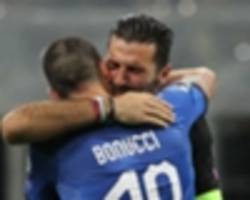 'replacing you at the world cup might not be a great idea!' – buffon grateful for rakitic tribute